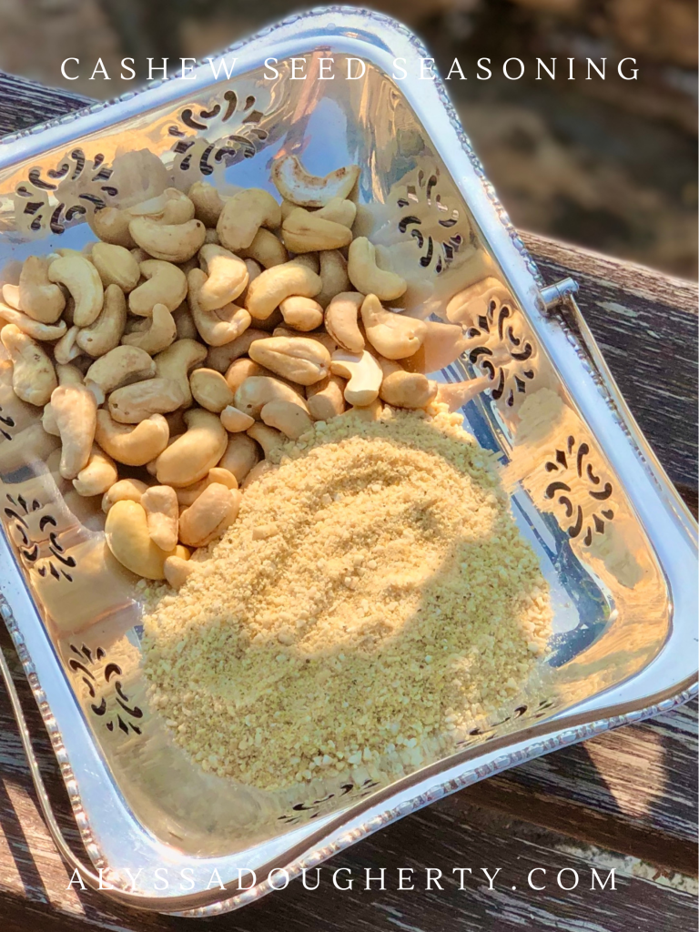 Salty Cashew Seed Seasoning